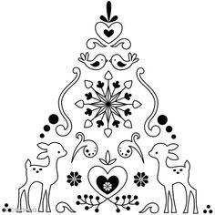 broderie de Noël Christmas embroidery