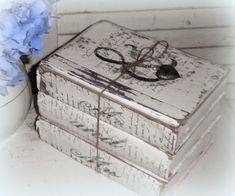 Painting vintage books - Finding Secret Treasure: Creating with Vintage Books