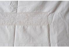 Crochet Top Seet and Pillowcase Full