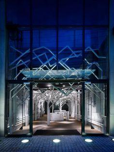 Nature Factory Shop Installation, Tokyo by Makoto Tanijiri of Suppose Design Office