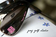 Itobori wedge Pink stamp PMJ GOLF STUDIO