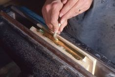 In-depth information on edge gilding and parchment over boards binding