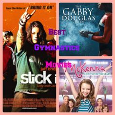 Best Gymnastics Movies - Stick It, The Gabby Douglas Story, An American Girl: McKenna Shoots for the Stars, and A 2nd Chance