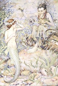 """""""The Little Mermaid"""" was one of my favorite Disney films, but the original story by Hans Christian Andersen was so deep. One of the realest love stories I've ever read."""