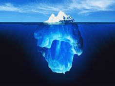 Just the tip of the iceberg......