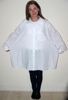 upcycle white shirt
