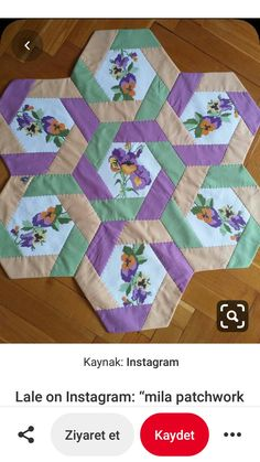 Your duvet – which incorporates a little wash major along with mask – required Pauline Colchas Quilting, Machine Embroidery Projects, Quilting Designs, Embroidery Designs, Quilt Square Patterns, Scrap Quilt Patterns, Hexagon Patchwork, Hexagon Quilt, Table Runner Pattern
