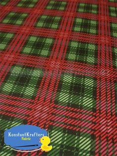 PUL Green Christmas Plaid http://konstantkraftersfabric.com/pul-green-christmas-plaid-meter-39-5-x-fw-sale-priced-9-99/