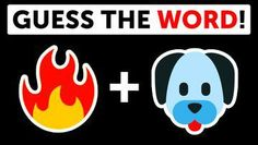 Emoji Puzzle, Guess The Word, Fun Test, Trivia Quiz, Riddles, Quizzes, The Help, Entertaining, Words