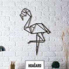 (Yeni) Metal Plaka - Flamingo