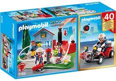 Playmobil Playmobil Zestaw Jubileuszowy Akcja Strażacka 5169