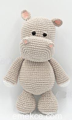 Crochet Amigurumi Hippo Melman