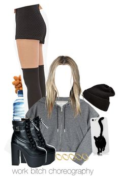 """""""-heyy Britney-"""" by nemes-margareta-anna ❤ liked on Polyvore featuring Børn, Forever 21, Golden Goose, ROC, UGG Australia and ASOS"""