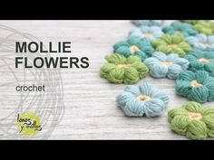 Tutorial Mollie Flowers Crochet in English - https://www.youtube.com/watch?v=wnYFiSSg51Q