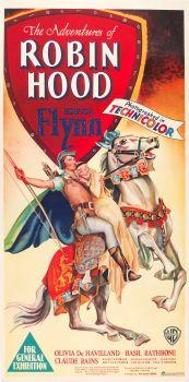 Movie Posters:Swashbuckler, The Adventures of Robin Hood (Warner Brothers, 1938).