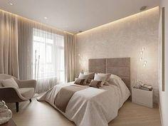 Интерьер однокомнатной квартиры в современном стиле, ЖК «Риверсайд»