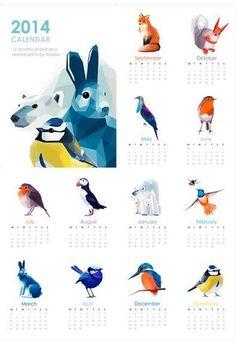Tiny Kiwi Creations 2014 Calendar | DailyCandy