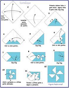 Origami Folhas de Arte: Convite para festa no programa Faça em Casa