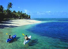 Sea Kayaking at Wakaya