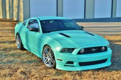 Can I paint my car this color?!?!