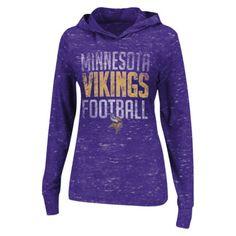 NFL Women's Haze Hoodie - Vikings