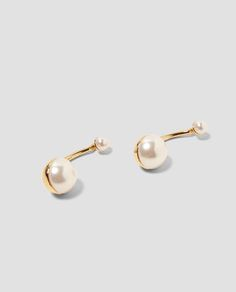 Image 2 of PEARLY EARRINGS from Zara