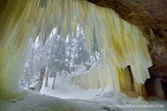 Eben Ice Caves, Upper Peninsula, Michigan