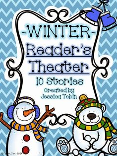 Winter Reader's Theater- Winter Activities for Reading - Elementary Nest