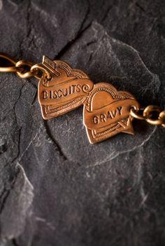 Biscuits and Gravy Bracelet on BourbonandBoots.com