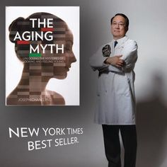 The Aging Myth by Dr. Joe Chang of NuSkin, a New York Times bestseller Nuskin Tr90, Galvanic Body Spa, Love Handles, New York Times, Ny Times, Let Them Talk, Nu Skin, New Books, Anti Aging