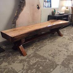 Live Edge Furniture, Log Furniture, Furniture Projects, Furniture Design, Natural Furniture, Rustic Wood Furniture, Live Edge Table, Live Edge Wood, Live Edge Slabs