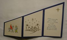 City of David Christmas trifold inside by grammawamma - Cards and Paper Crafts at Splitcoaststampers