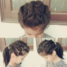 Top 100 hairstyle for short hair photos Today's hairstyle ▪mohawk braid ▪  Inspired from@mwhairstyles❤❤ #braids #braidedhair #onesided #onesidedhair #hairstyle #peinado #peinados #hairstyle #hairstyling #girlshairstyles #haircolor #hairstyleforkids #hairstyleforgirls #hairstyleforshorthair #dailyhairstyles #followforlikes #longhair #shorthair #hairdos #hairgamestrong #mohawkbraid