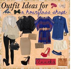 """""""Outfit Ideas for an HOURGLASS FIGURE ♥"""" by tipandadvicegoddessess ❤ liked on Polyvore"""