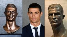 The new Cristiano Ronaldo bust is slightly more accurate than the old one