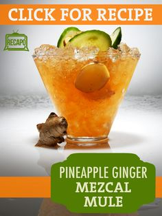 Carla Hall and Daphne Oz put together some delicious new cocktails that are sure to be the hit of your brunch! Try out this Mezcal Mule with Ginger beer and pineapple juice