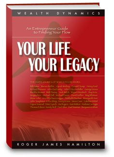 Your Life Your Legacy: Entrepreneurs Guide to Finding Your Flow by Roger James Hamilton.This book is amazing. Read it once, now I'm reading it again. Has multiple layers of wisdom. Change your thinking - change your life. Hamilton, Inspirational Books, Reading Lists, Ebook Pdf, Your Life, Inspire Me, Over The Years, Finding Yourself, This Book