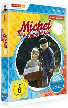 Michel aus Lönneberga Spielfilm Box, 3 DVD