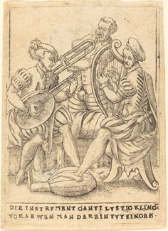 Die Instrvment gantz lvstig Kling vorab wen man darein tvt singen Dated c. 1580