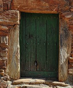 Door, Bare Wood, Old, Entrance