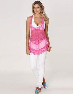 Blusa Kanui Clothing   Co. Renda Dia Da Mulher b8570522822dd