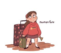 reunion falls 1 AU a gravity falls au in which mabel and dipper, for (possibly supernatural) reasons unknown, were separated at birth, and while mabel grew up as an only child in her normal home with normal parents, dipper grew up in gravity falls raised by grunkle stan. but at age 12 mabel learns of dipper's existence and decides to pay her long lost twin a surprise visit, completely unaware of the kind of wacky business going on in his hometown<<<THIS