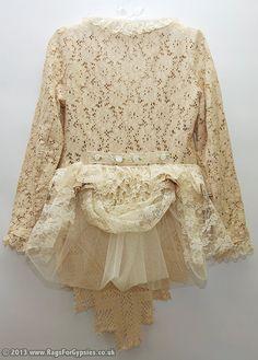 Albertina Lace Gypsy/Hippie Jacket by RagsForGypsies on Etsy