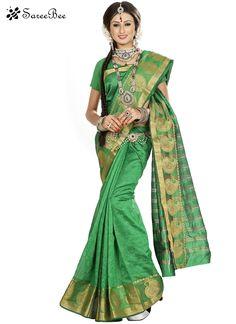 Unique Banarasi Silk Green Casual Saree    For More Information WhatsApp 7202080091 Or Visit www.SareeBe.com  #red  #designer  #instagram  #kurti  #fashionista  #makeup  #delhi  #outfitoftheday  #women-fashion  #myfirststory  #model  #indian  #saree  #ramadanmubarak  #trendy  #ethnic  #picoftheday  #menonroposo  #roposolove  #cool  #firstpost  #soroposo  #summer-style  #streetstyle  #summer  #newdp  #beauty  #traveldiaries  #styles  #youtuber  #bestSeller  #bollywoodsaree