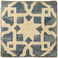 Marrakech Tinmel Tiles, beautiful hand made and hand decorated tiles exclusive to Fired Earth Entry (different colorway? Wall And Floor Tiles, Wall Tiles, Stiffkey Blue, Glazed Walls, Fired Earth, Mediterranean Design, Style Tile, Home Trends, Floor Design