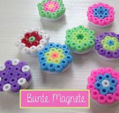 Bügelperlen Magnete DIY magnets kids crafts christmas