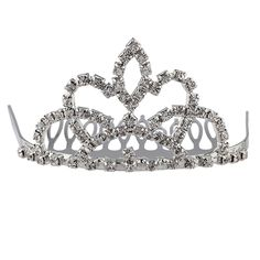 Lux Accessories Pave Crystal Queen Crown Wedding Bride Bridal Sweet 16 Hair Comb Crown >>> You can get additional details at the image link.
