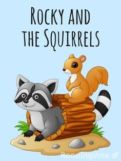Rocky and the Squirrels - Free, printable reading comprehension activity with passage and questions for 3rd - 5th grade!