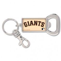 San Francisco Giants Wood Keyring