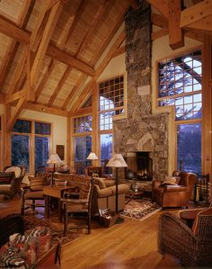 Wholesale Log Homes is the leading wholesale provider of logs for building log homes and log cabins. Log Cabin Kits and Log Home Kits delivered to you. Cabin Homes, Log Homes, Cabana, Log Home Kits, Luxury Log Cabins, Lodge Decor, Cozy Cabin, Winter House, My Dream Home